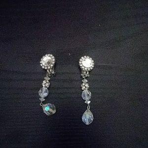 Gorgeous clip on earrings